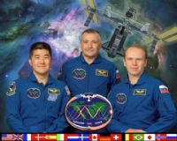 International Space Station Expedition 15 Official Crew Photograph #3